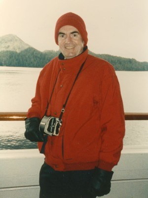 One of Jean's Favorite Pictures of Jerry in Alaska